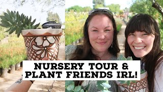 Nursery Tour & Plant Friends IRL Meet up | Nicole from My Clean Leaves