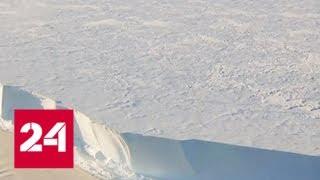 """В Антарктиде найдены """"поющие"""" ледники - Россия 24"""