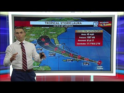 Tropical Storm Laura forecast puts Florida Keys on alert