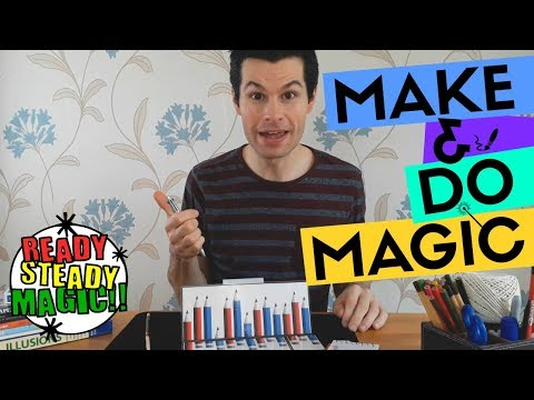 Colour Changing Pencil | Make & Do Magic | Ready Steady Magic