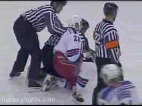 Donald Brashear vs. Colton Orr