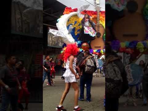 Carnaval de Álvaro Obregón el emperador 2018
