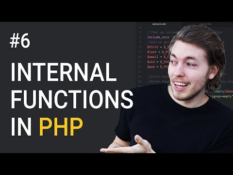 6: What Are Internal Functions in PHP | PHP Tutorial | Learn PHP Programming | PHP for Beginners