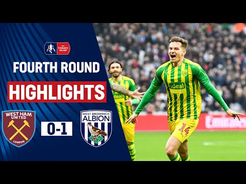 FC West Ham United Londra 0-1 FC WBA West Bromwich...