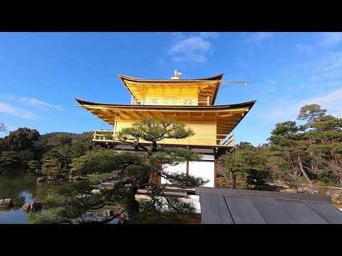 Visit Kinkaku-ji after renovation, The Golden Pavilion in Kyoto
