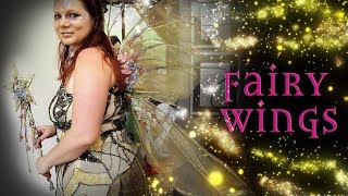 Flower Fairy Wings Tutorial - How To Make Fairy Wings