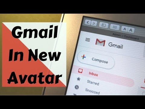 How To Get Gmail New Design Layout & Use It | Hindi Audio