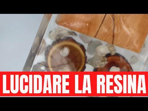 Come lucidare la resina epossidica post lavorazioni