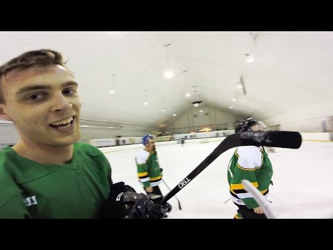 GoPro Hockey | PLAYING VS. A SUBSCRIBER?!