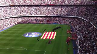 preview picture of video 'Einmal im Leben Camp Nou'