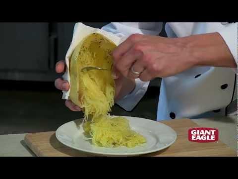 How to Prepare Delicious Homemade Spaghetti Squash | Giant Eagle