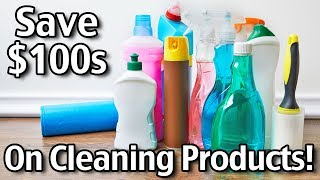 Save Money On Household Cleaning Products!