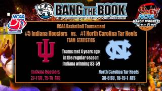 North Carolina vs Indiana March Madness Pick, Odds & Prediction