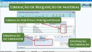 Requisição de Materiais - Enterprising / Atena
