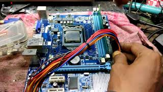 computer repairs #pc repair #no power motherboard repaired