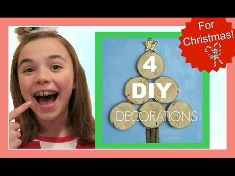 DIY CHRISTMAS HOME DECORATIONS | Flippin' Katie