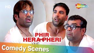 Phir Hera Pheri  | Most Popular Comedy Scenes | Paresh Rawal - Akshay Kumar - Suniel Shetty
