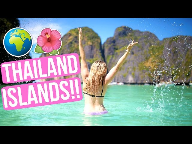 EXPLORING ISLANDS IN THAILAND!!! SNORKELING + SWIMMING!!