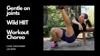 Gentle On Joints 3-minute HIIT Workout Choreo You Can Do With Your Kids