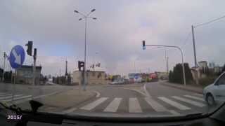 preview picture of video 'Skrzyżowanie ul Gliwicka/Wielopolska, Rybnik'