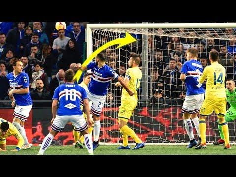 Fabio Quagliarella •THE GOALMACHINE • Sublime Goals & Skills • 2018/19