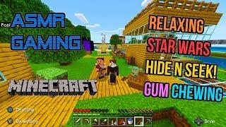 ASMR Gaming 💎 Minecraft Relaxing Star Wars Hide N Seek Gum Chewing 🎮🎧 Controller Sounds 😴💤