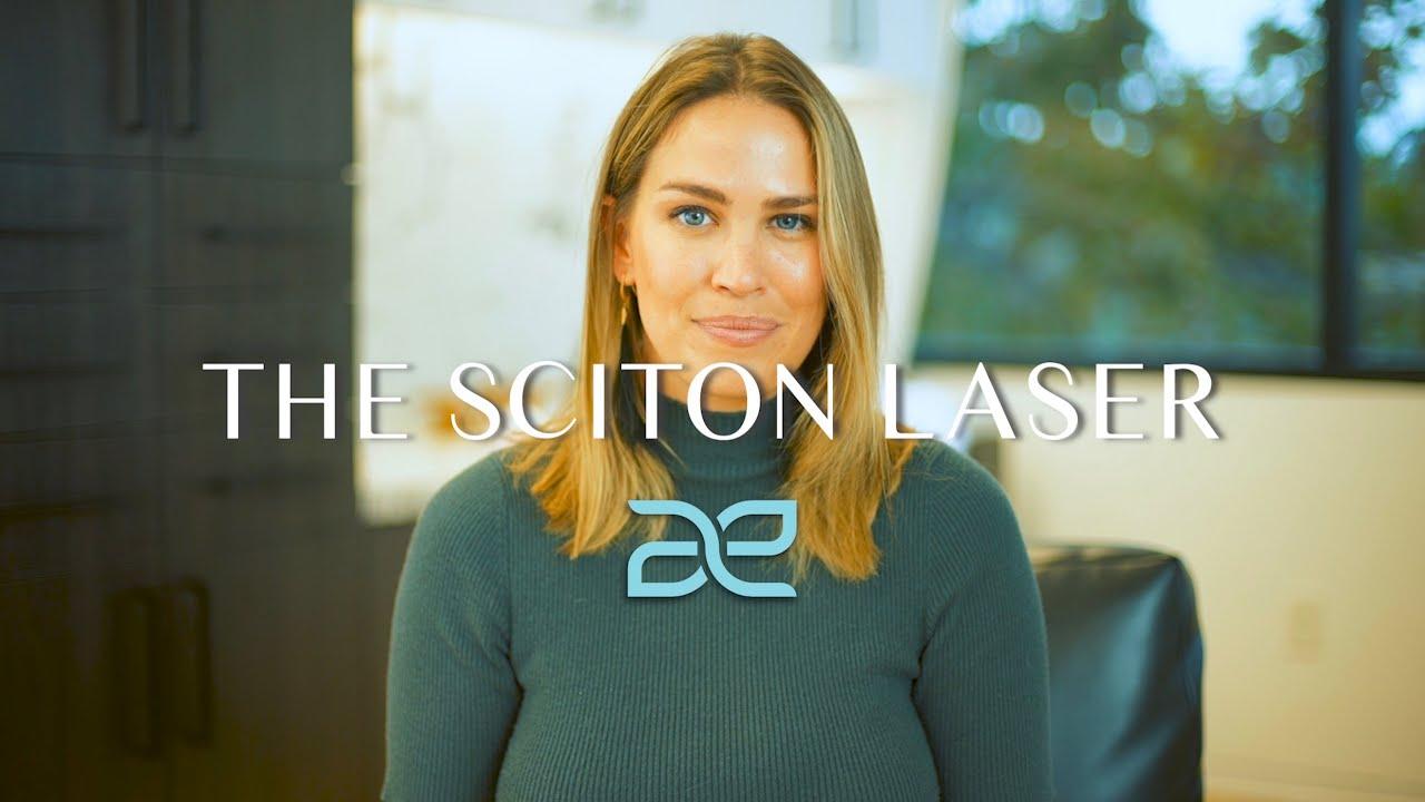 Haleigh Sullivan Talking about Sciton Laser