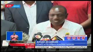 William Ruto aidhinisha uamuzi wa Sonko kwa kumchagua Polycarp Igathe mgombea mwenza kwa ugavana