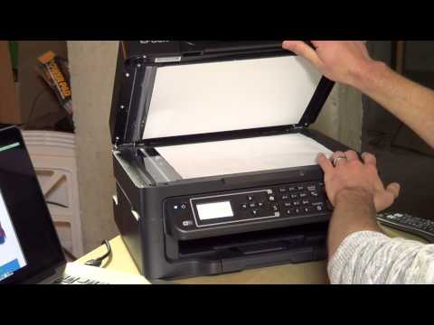 Epson WorkForce WF-2630 Review –  All-In-One Wireless Color Printer Scanner Copier Fax