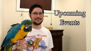 Upcoming 2018 Parrot Wizard Events: NJ, Norway, Germany
