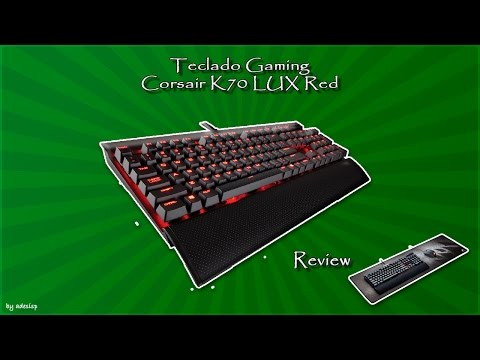Compras del Black Friday: Corsair K70 LUX RED español