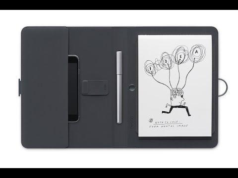 Wacom - Bamboo Spark - Smart Folio / Notebook - Gadget Review