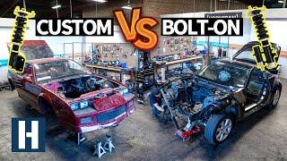 Build & Battle 3: Setting up Suspension for Gymkhana GRID! Camaro vs 350z Faceoff EP.2