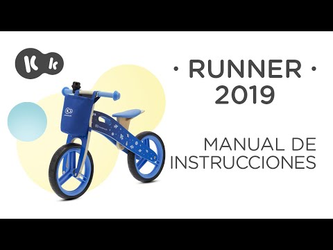 Bicicleta sin pedales Runner Kinderkraft