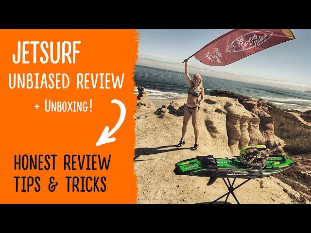 Jetsurf UNBOXING, Honest Review and Tips (featuring special guest Wayne)