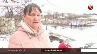 В поселке Пойма в ЗКО вода подступила к домам