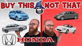 The CAR WIZARD Shares The Top HONDAs TO Buy & NOT To Buy!