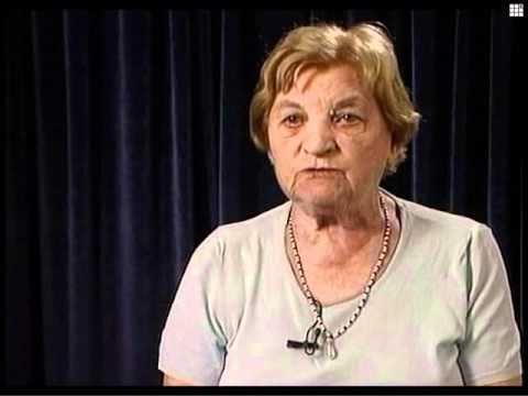 Двора Гильман (Радашкович) рассказывает о первых днях немецкой оккупации Кубличей (Белоруссия), грабежах, убийствах и издевательствах