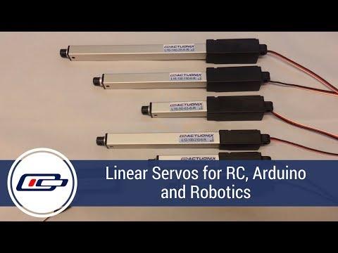 L12-R Micro Linear Servos for RC & Arduino