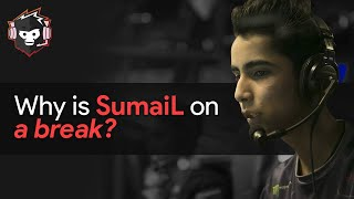 Why is SumaiL on a Break from Competitive Dota 2?