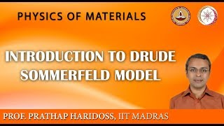 Introduction to Drude Sommerfeld model