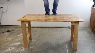 diy scrap wood workbench part one