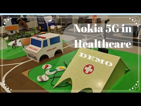 Nokia 5G solution in Healthcare