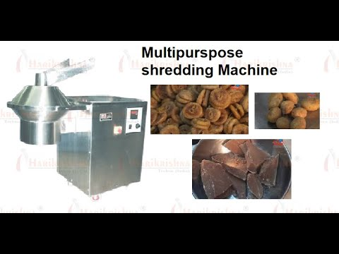 Multipurpose Shredder MP Machine