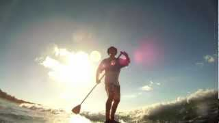 preview picture of video 'Stand up Paddle at Gab Gab Beach'