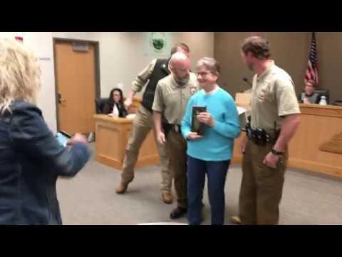 Video: Scott County Animal Shelter recognizes Delta Purkey
