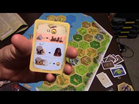 Matt's Boardgame Review Episode 250: Catan Legend of the Sea Robbers Scenerio