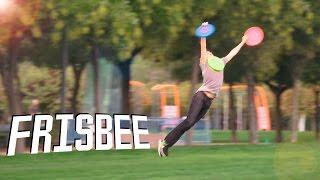 FRISBEE Trick Shots | Jeyx
