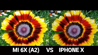 XIAOMI MI 6X (A2) VS IPHONE X CAMERA TEST COMPARISON
