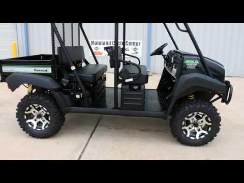 2017 Kawasaki Mule 4010 Trans4x4 SE in La Marque, Texas - Video 1